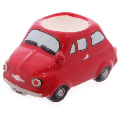 Fiat 500 rood eierdopje