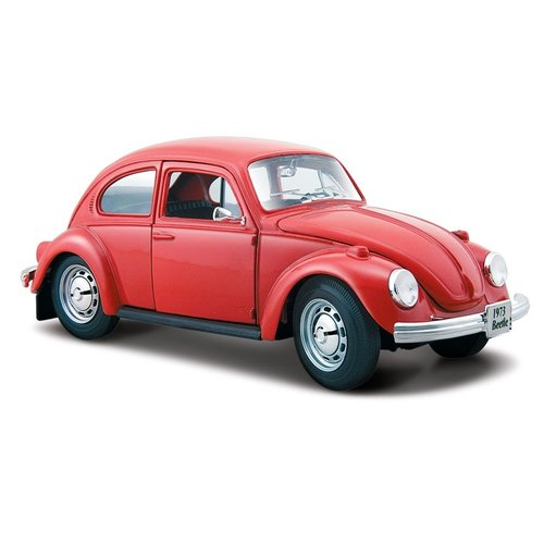 Volkswagen Kever 1973 Rood 1:24