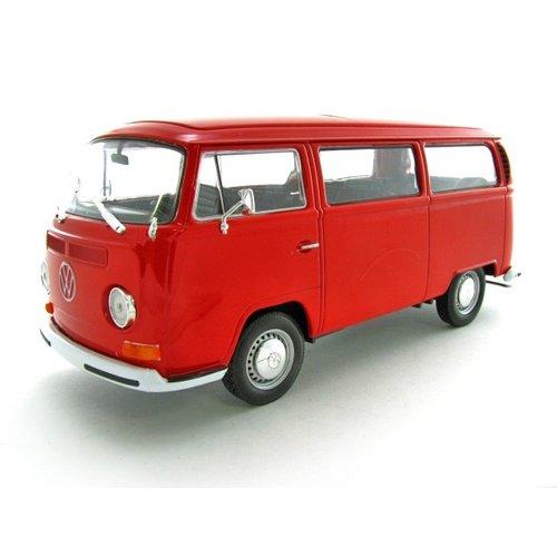 Volkswagen T2a 1972 Rood 1:24