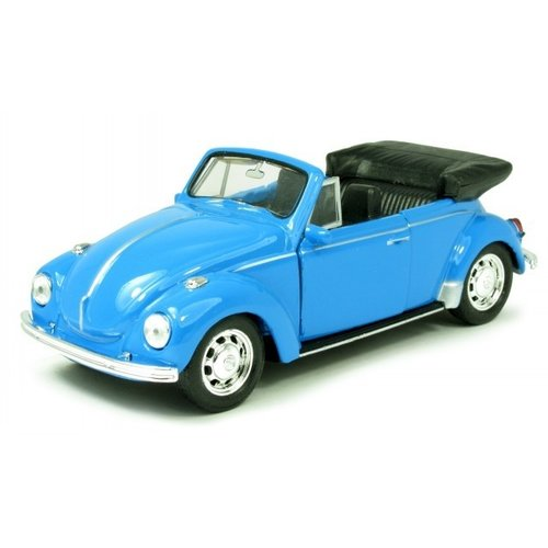 VW KEVER CABRIOLET 1967 Blauw 1:34