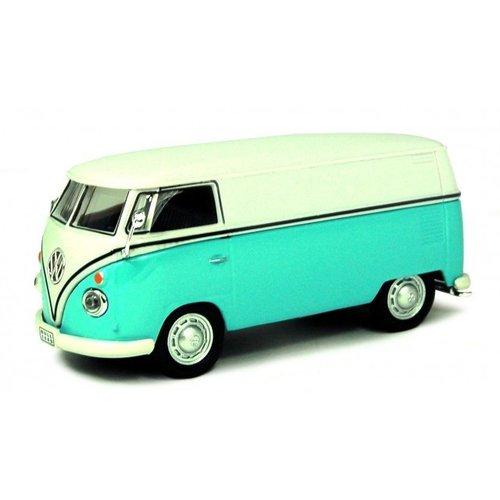 Volkswagen T1 VAN Blauw-Wit 1:43