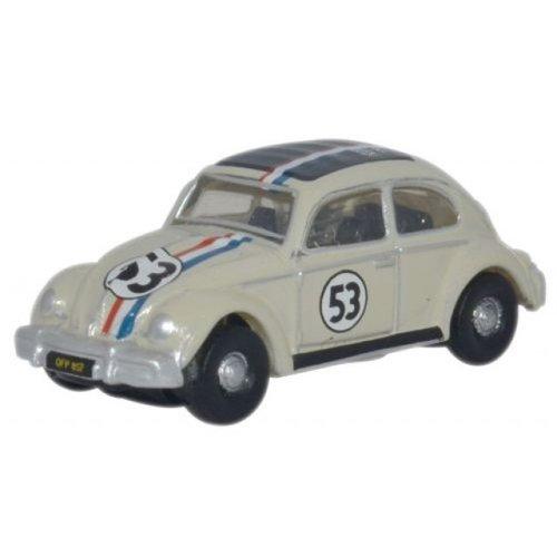 VW Kever Herbie 53 Wit 1:148