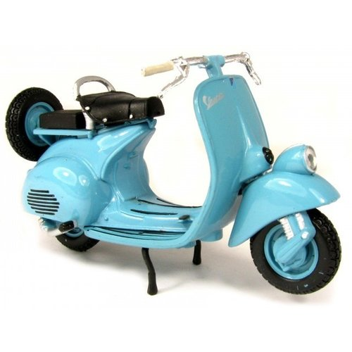 Vespa scooters 125 1953 Blauw 1:18