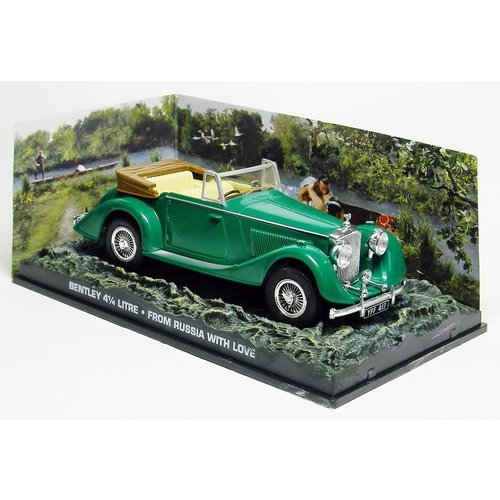 BENTLEY 4 1/4 LITRE JAMES Bond Collection Groen 1:43