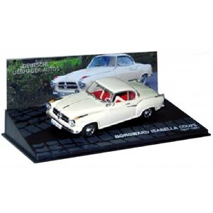 BORGWARD ISABELLA COUPE Wit 1:43