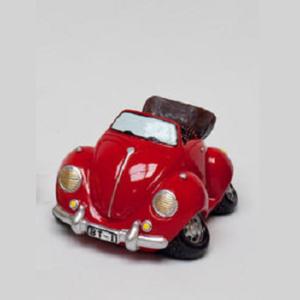 Spaarpot Volkswagen Kever Cabrio Rood
