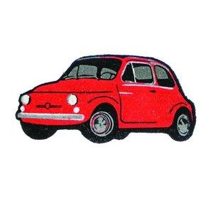 Fiat 500 rode deurmat
