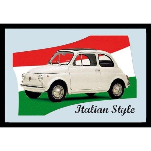 Fiat 500 magneet spiegel