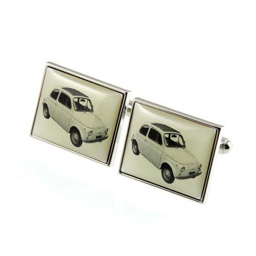 Fiat 500 manchetknopen.