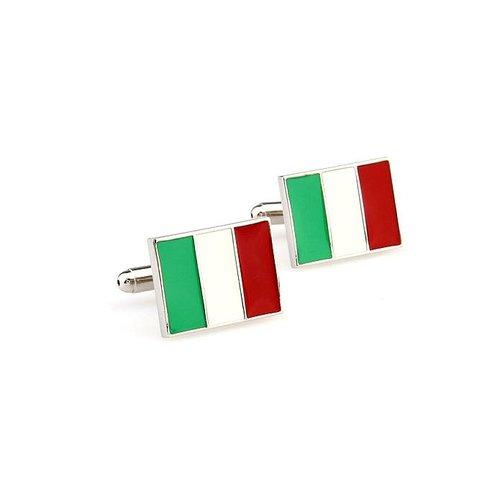 Italiaanse vlag manchetknopen