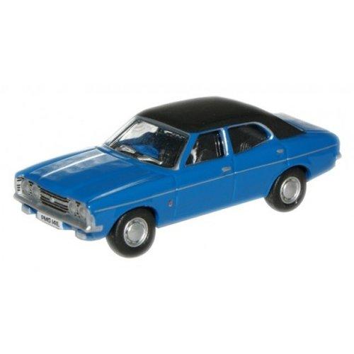 Ford Cortina Blauw 1:76