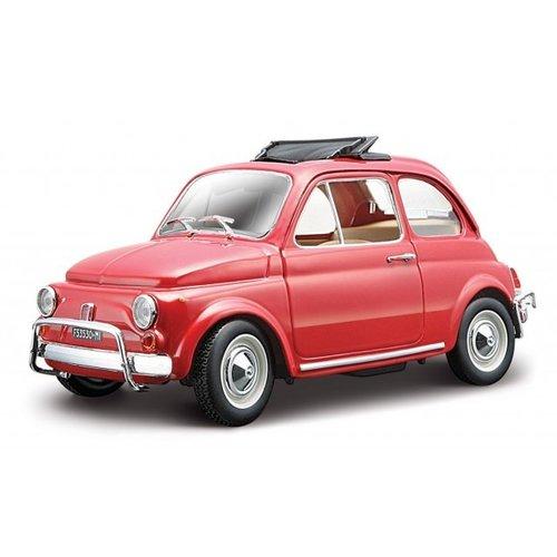 Fiat 500 L 1968 Rood 1:24
