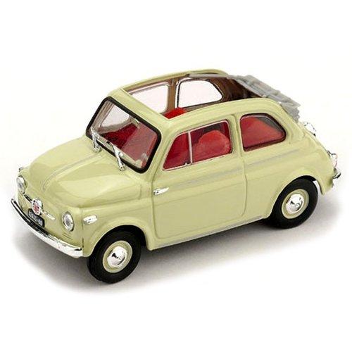 Fiat 500 Nuova Normale Aperta 1957 Ivoor 1:43