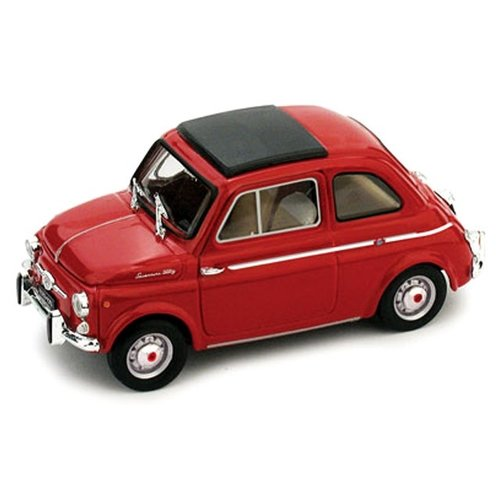 Fiat 500 TV Giannini 1963 Rood 1:43