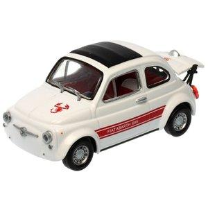 Fiat Abarth 695 SS Assetto Corsa 1969 in Vitrine Wit 1:43