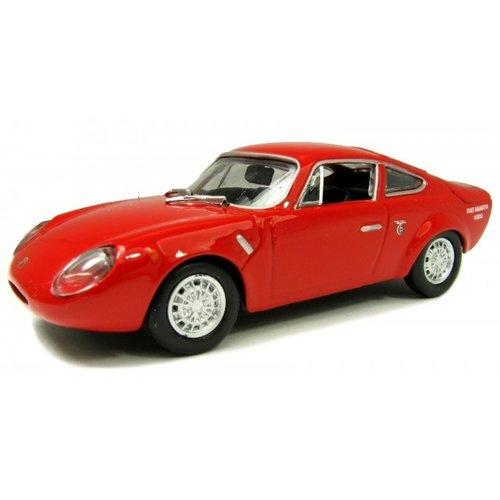 FIAT ABARTH 1000 BIALBERO 1963 Rood 1:43