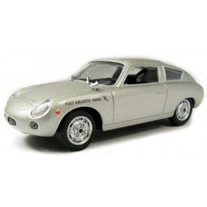 FIAT ABARTH 1000 BIALBERO 1961 Zilver 1:43