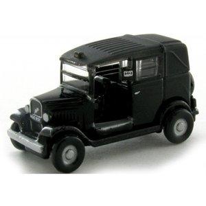 Austin Taxi 1934 Zwart 1:148