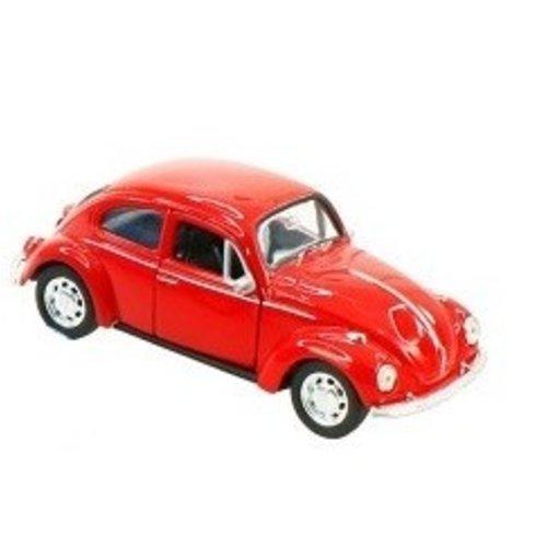 Volkswagen Beetle Rood 1:37