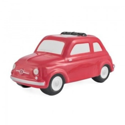 Fiat 500 kleine rode spaarpot
