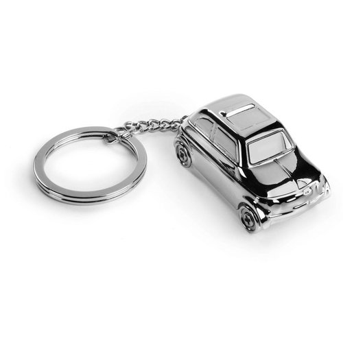 Fiat 500 Sleutelhanger 3D
