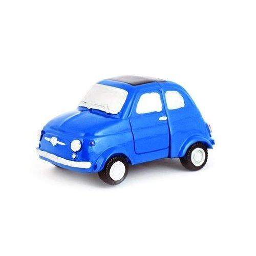 Fiat 500 blauwe fotohouder