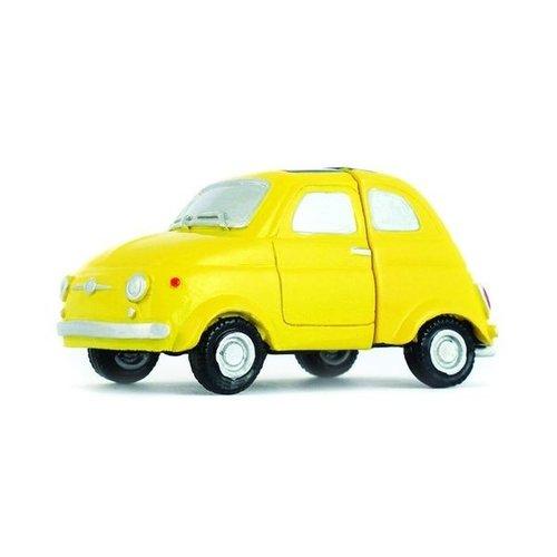 Fiat 500 gele fotohouder