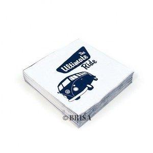 Volkswagen T1 Samba The Ultimate Ride papieren servetten