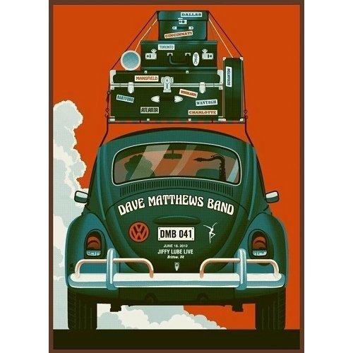 Houten wanddecoratie Dave Matthews Band Kever