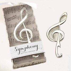 Creative Vioolsleutel flesopener in een geschenkdoos