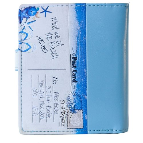 Compacte dames portemonnee Beach Post Card