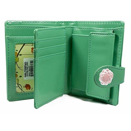 Compacte dames portemonnee Vintage Post Card