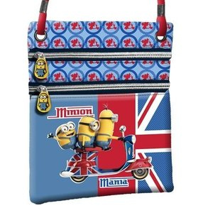 Minions London vertikale kleine tas