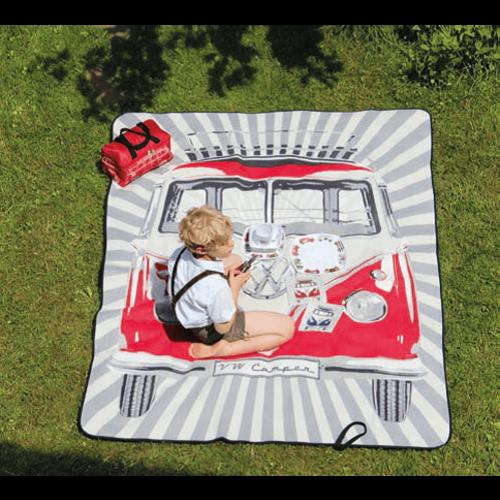 Volkswagen Picknick kleed rood