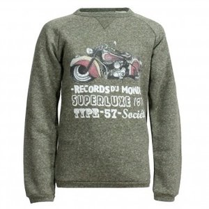Sweater Hektor Motor Ivy Green maat 146/152