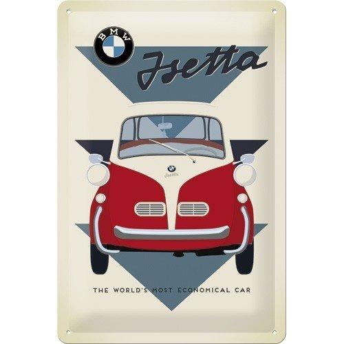 BMW Isetta Car 3D metalen wandplaat