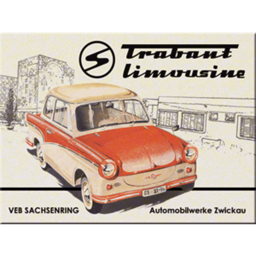 Magneet Trabant Limousine