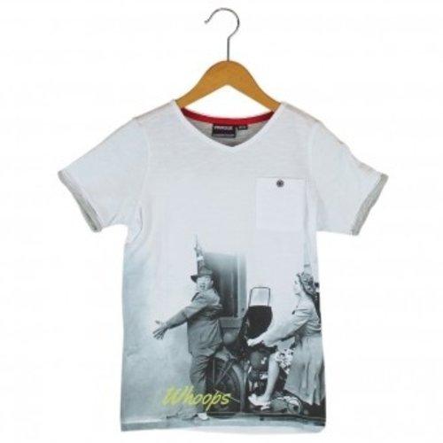 Motor jongens T-shirt met korte mouw