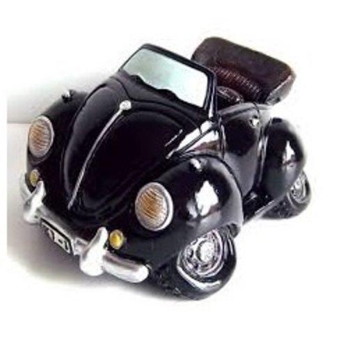 Spaarpot Volkswagen Kever Cabrio Zwart