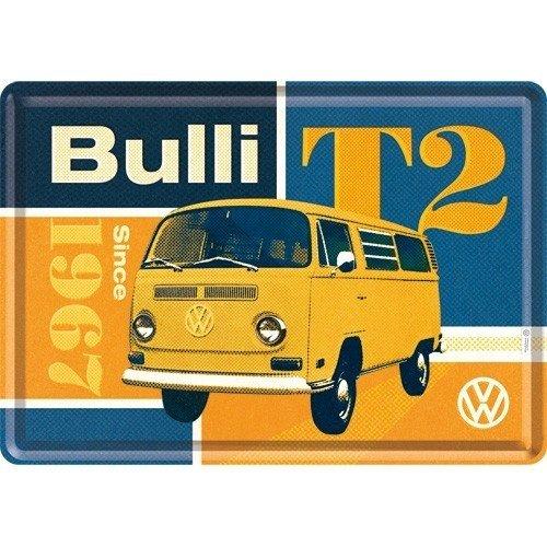 Volkswagen T2 Bulli metalen kaart