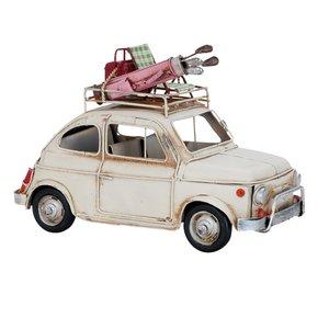 FIAT 500 metalen miniatuurauto