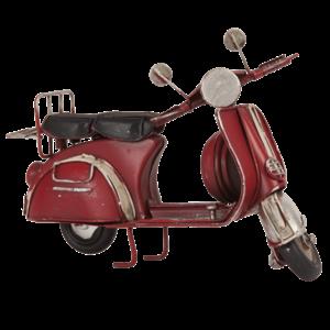 Vespa metalen miniatuurscooter