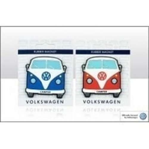Volkswagen T1 blauwe rubberen front magneet