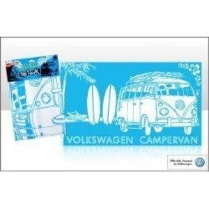 Volkswagen T1 blauw katoenen theedoek