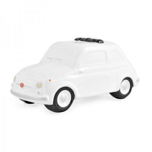 Fiat 500 kleine witte spaarpot