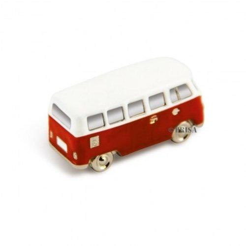 Volkswagen T1 bus rode magneet in mini vorm