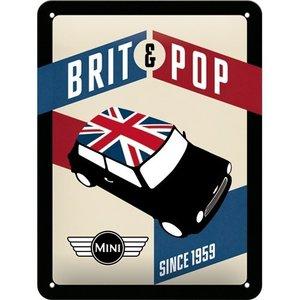 Metal Card Brit Pop