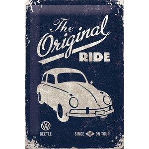 VW Beetle - The Original Ride metalen wandplaat