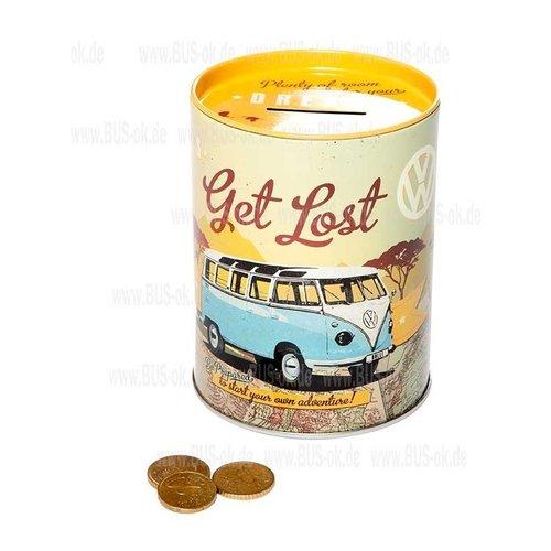Spaarpot VW Bulli - Let's Get Lost
