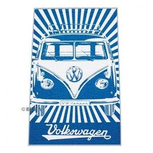 Volkswagen T1 blauw strandlaken